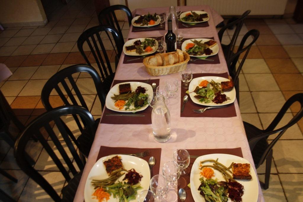 repas bio et locaux repas de groupe séminaires