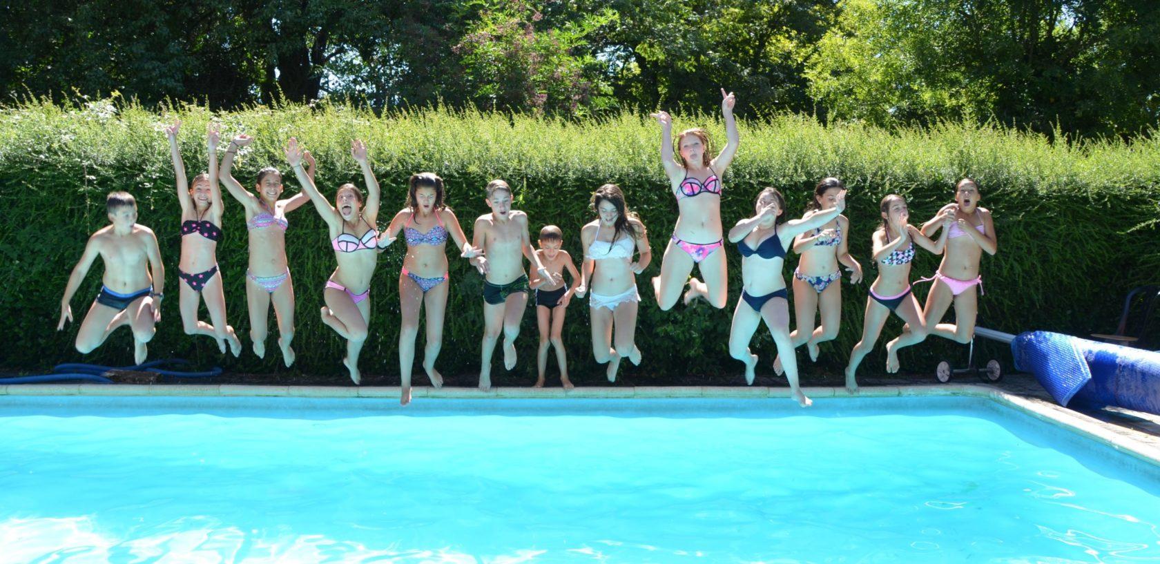 Séjour baigande équitation piscine