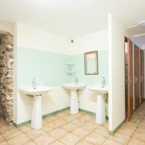 salle de bain gite de groupe