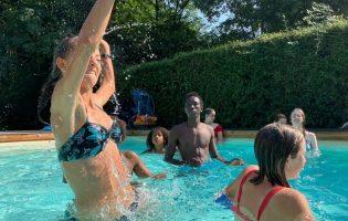 piscine rognée